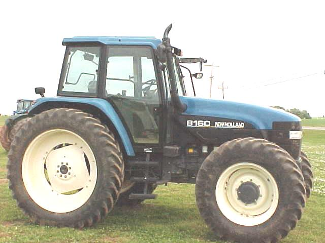 farm equipment for sale ford new holland 8160