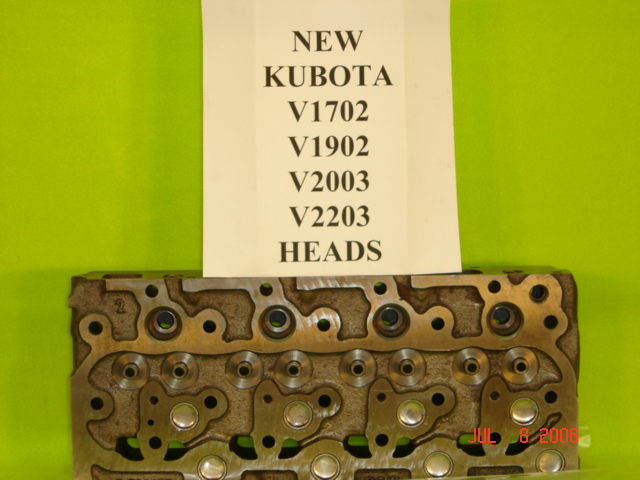 Kubota v1702 Cylinder Head Aftermarket New