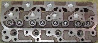 Kubota V1702 Cylinder Head with valves