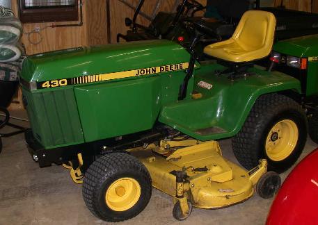 Farm Equipment For Sale John Deere 430 Lawn Tractor