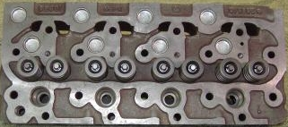 Kubota V1902 Cylinder Head with valves