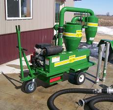 Farm Equipment For Sale: Walinga 3510 Gas Agri Vac