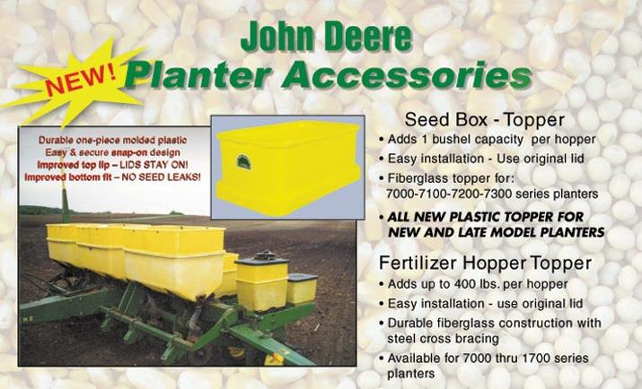 John Deere Planter Seed Box Toppers