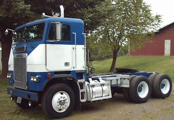 Farm Equipment For Sale Freightliner Fla6364t Cabover Daycab