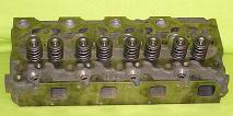 New Kubota V2203 Cylinder Head (complete) Indirect Fuel Injection Top View