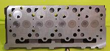 New Kubota V1903 Cylinder Head (complete) Indirect Fuel Injection Bottom View