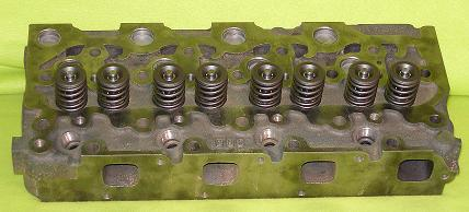 New Kubota V2203 Cylinder Head (complete) Indirect Injection (Top View)