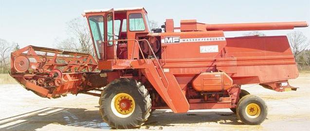 Farm Equipment For Sale Massey Ferguson 750 Combine
