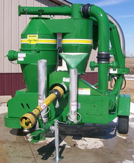 Farm Equipment For Sale: Walinga 6614 DLX HBR Rhino Grain Vac