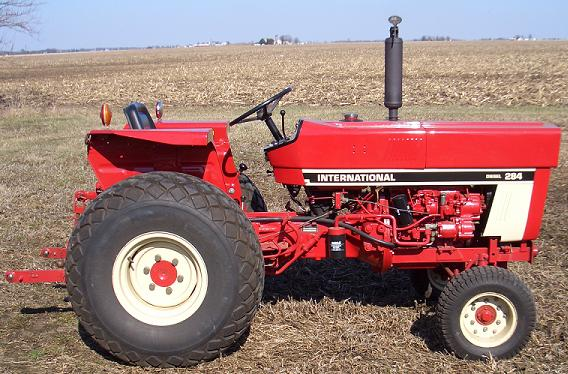 Farm Equipment For Sale International Harvester 284 Diesel tractor – Ih 284 Wiring Diagram