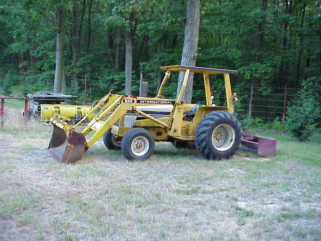 International 240 Tractor : Farm equipment for sale international industrial
