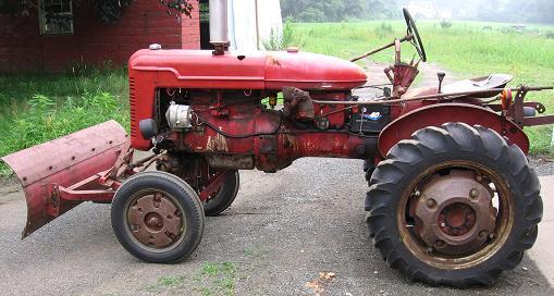 Farm equipment for sale farmall super a tractor