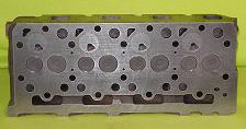 New Kubota V2203 Cylinder Head (complete) Indirect Fuel Injection Bottom View