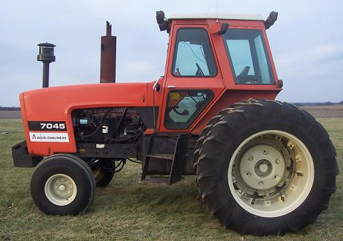 Farm Equipment For Sale Allis Chalmers 7045 Tractor