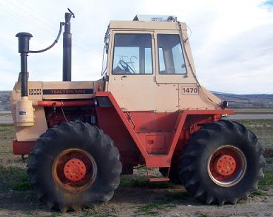 Case 1470 Tractor