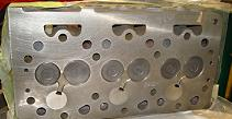 Kubota D950 Cylinder Head Bottom View
