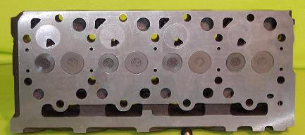 New Kubota V2003 Cylinder Head (complete) Indirect Injection (Bottom View)